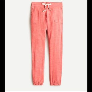 J Crew Relaxed Jogger Pant in Vintage Cotton Terry